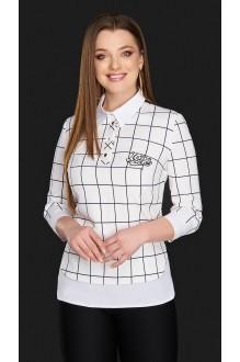 Блузки и туники DiLiaFashion 0084 белый фото 1