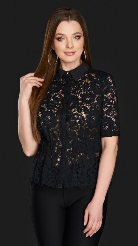 Блузки и туники DiLiaFashion 0106 чёрный