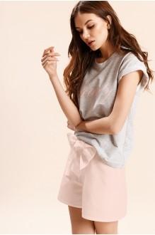 Beauty 2625 серый с розовым