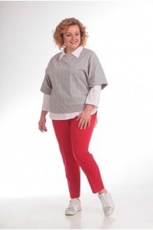 Прити 684 с красными брюками