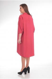 Повседневные платья Анастасия Мак 485 брусничный фото 2