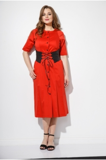 Anna Majewska 1101 красный с поясом