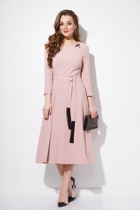 Повседневные платья Anna Majewska 1058 розовый