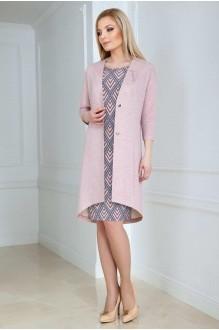 Azzara 485С серо-розовый дизайн/нежно-пудрового цвета