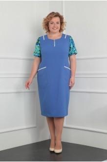 Летние платья Milana 922 голубой фото 1