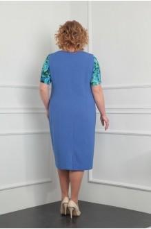 Летние платья Milana 922 голубой фото 3