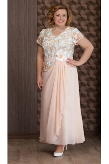 Aira Style 495 персиково-золотистые розы