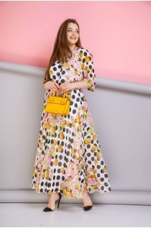 Длинные платья Anastasia 062 розовый фото 2