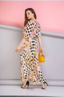 Длинные платья, платья в пол Anastasia 062 розовый фото 3