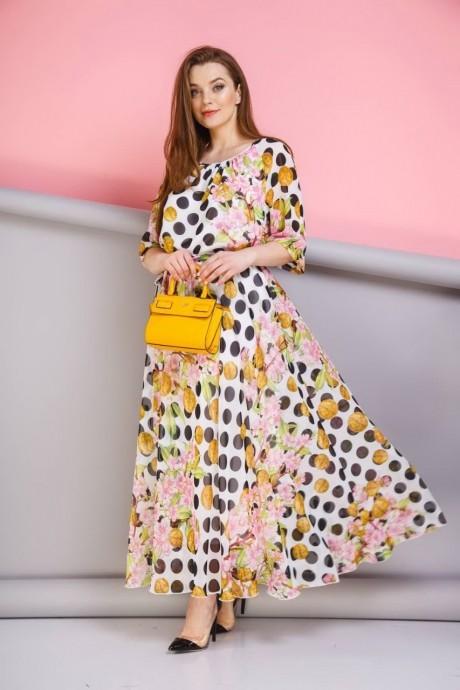 Длинные платья, платья в пол Anastasia 062 розовый