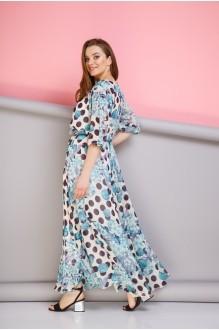 Длинные платья, платья в пол Anastasia 062 голубой фото 2
