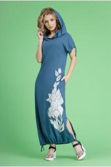 Euro-moda 80 синий (джинсовый)