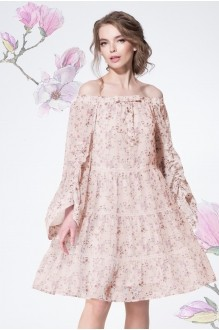 LeNata 11886 нежно-розовый в цветы
