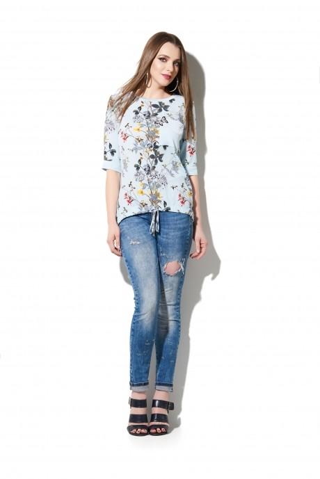 Блузки и туники DiLiaFashion 0112 цветы