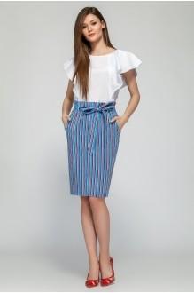 Fashion Lux 1210 бело-голубой