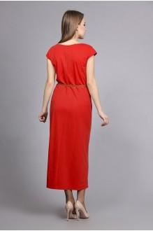 Длинные платья, платья в пол Fantazia Mod 3178 красный фото 2