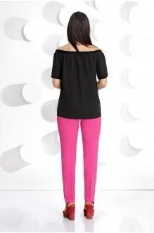 Брючные костюмы /комплекты Мублиз 239 черная блуза фото 2