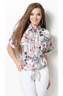 Блузки и туники DiLiaFashion 0120 -3 белый фото 2