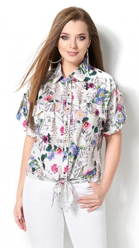 Блузки и туники DiLiaFashion 0120 -3 белый