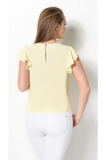 Блузки и туники DiLiaFashion 0119 -3 жёлтый фото 3