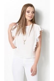 Блузки и туники DiLiaFashion 0119 -3 белый фото 2