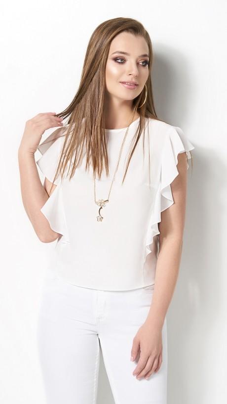 Блузки и туники DiLiaFashion 0119 -3 белый
