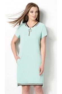 Летние платья DiLiaFashion 0116 -3 мята фото 2