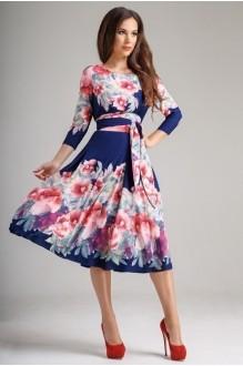 Повседневные платья *Распродажа *Распродажа Teffi Style 1217 пионы фото 1