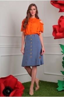 Мода-Юрс 2408 оранж + синий джинс