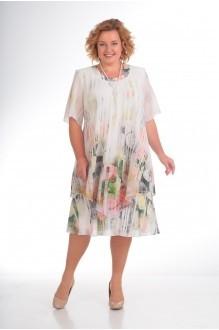 Вечерние платья Прити 242 розы/полоски фото 1