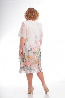 Вечерние платья Прити 242 розы/полоски фото 2