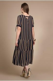 Длинные платья, платья в пол Olegran Д-509 полоска фото 2