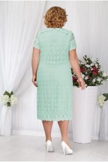 Вечерние платья Нинель Шик 5647 бирюза фото 2