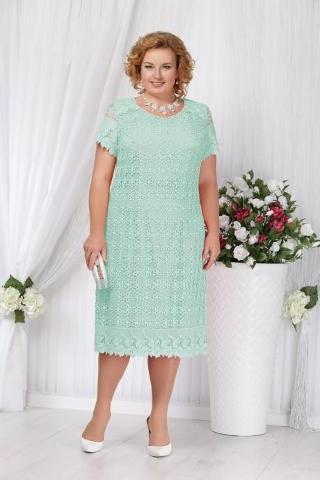 Вечерние платья Нинель Шик 5647 бирюза