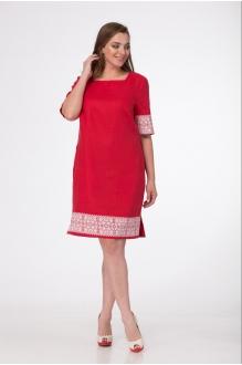 Повседневные платья MALI 433 красный фото 2