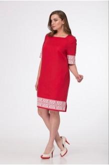 Повседневные платья MALI 433 красный фото 3