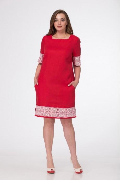 Повседневные платья MALI 433 красный