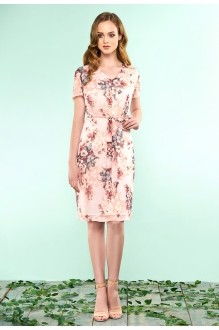Bazalini 3221 розовый в цветы