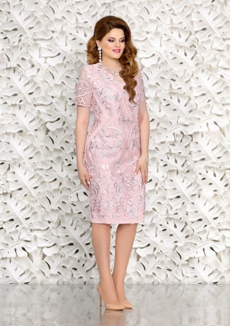 Вечерние платья Mira Fashion 4452 розовый