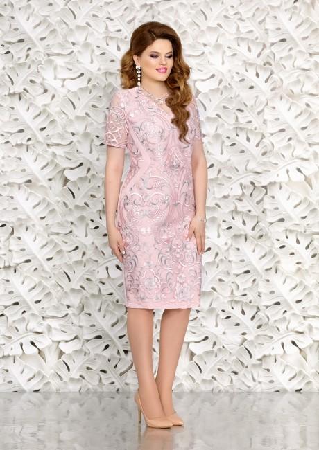 Вечерние платья Mira Fashion 4452 беж