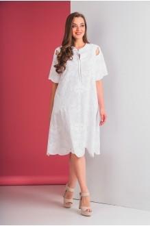 Повседневные платья Elletto 1553 белый фото 3