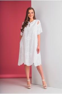 Повседневные платья Elletto 1553 белый фото 4