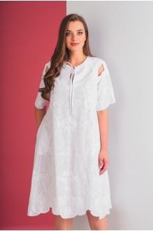 Повседневные платья Elletto 1553 белый фото 5