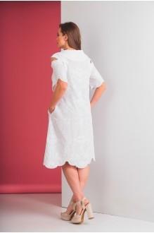 Повседневные платья Elletto 1553 белый фото 6