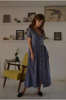 Повседневные платья PUR PUR 01-602 голубой фото 1