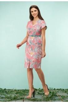*Распродажа Bazalini 3161 розовый в цветы