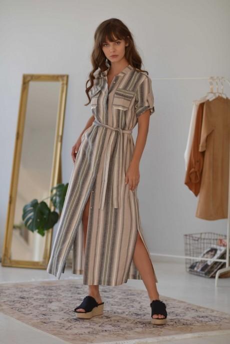 Длинные платья, платья в пол PUR PUR 01-607