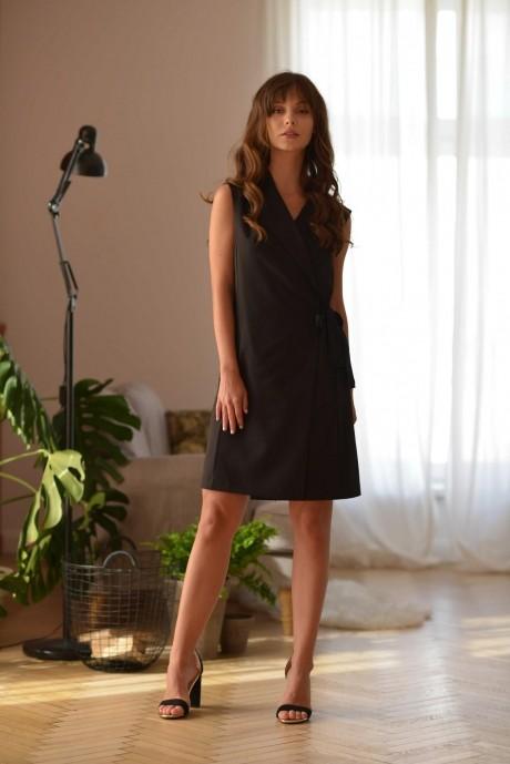 Деловые платья PUR PUR 01-604 черный