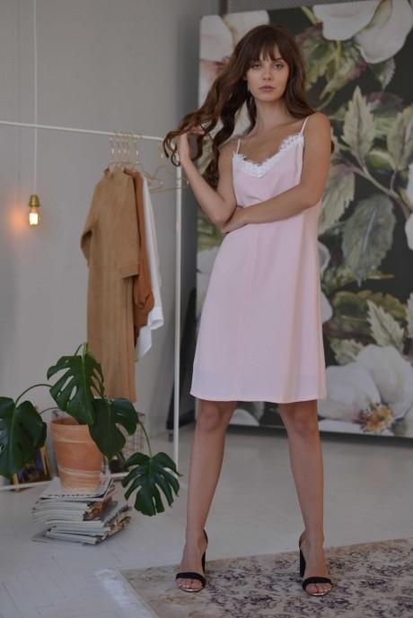 Летние платья PUR PUR 01-600 пепельная роза