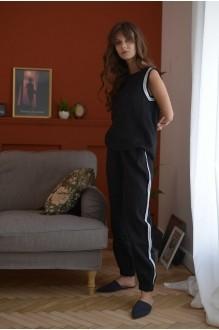 Брючные костюмы /комплекты PUR PUR 01-598 черный фото 2